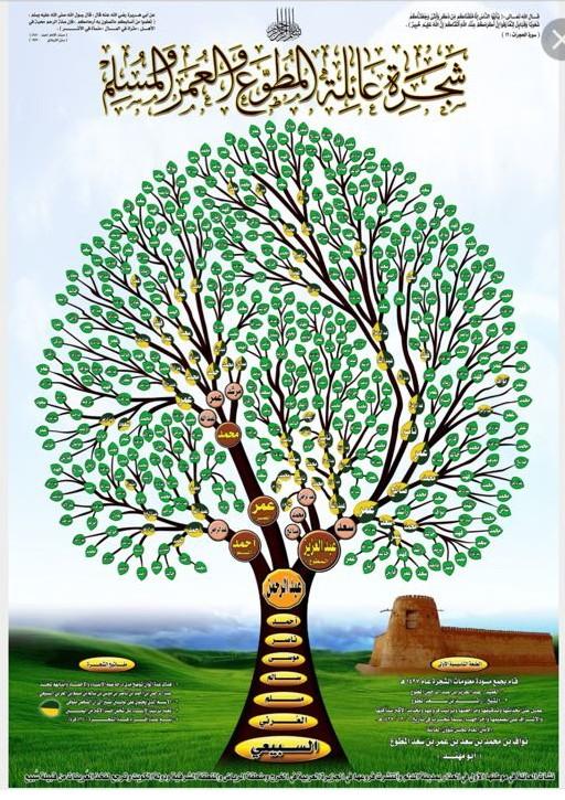 تصميم شجرة العائلة وتحديد الأقارب الأبعد زيارة موقع الدراسة الجزائري