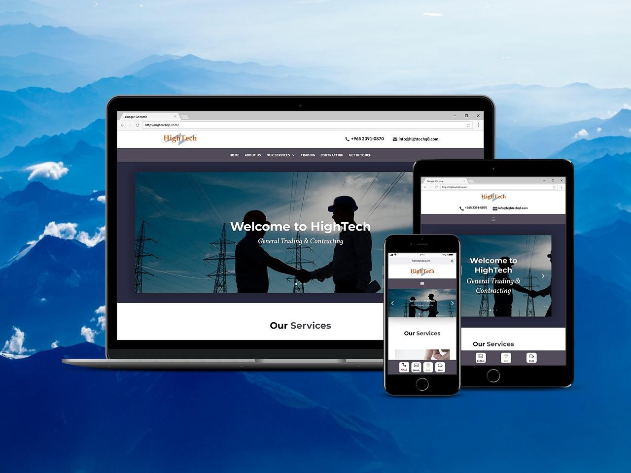 موقع شركة هايتك - English