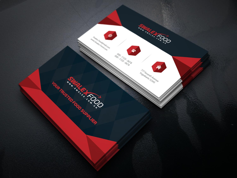 تصميم شعار إحترافي (logo design) مع بزنس كرد - business cards