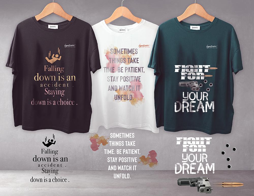 مجموعة ( تي شيرتات ) T-shirt