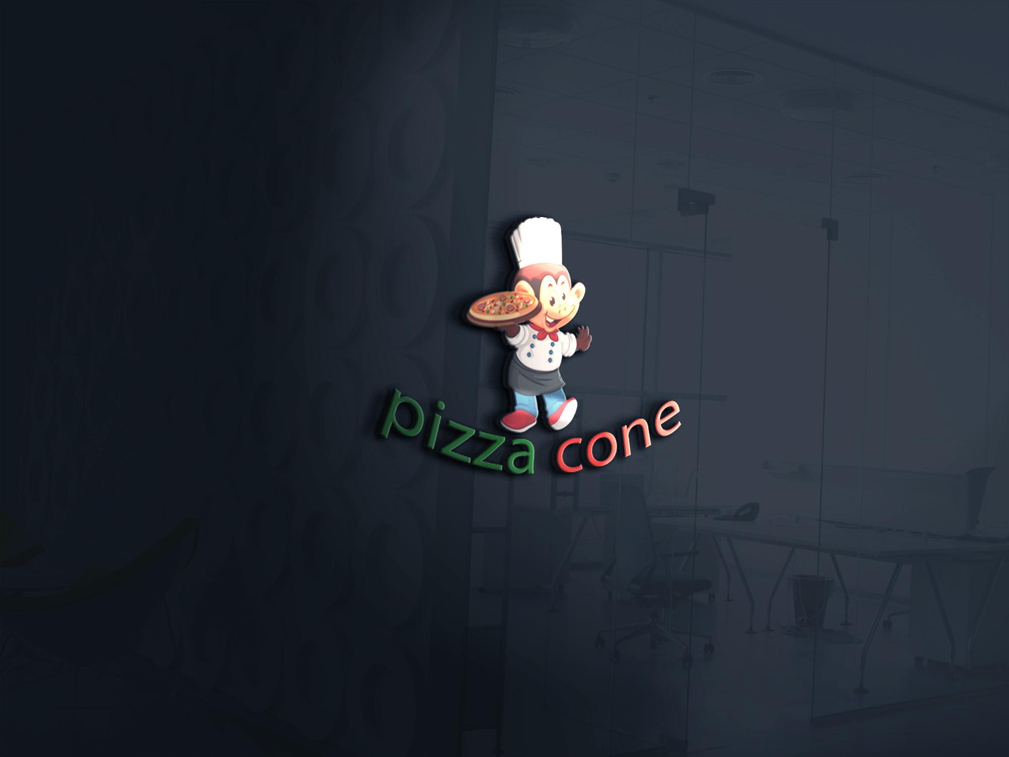 لوجو لمحل بيتزا