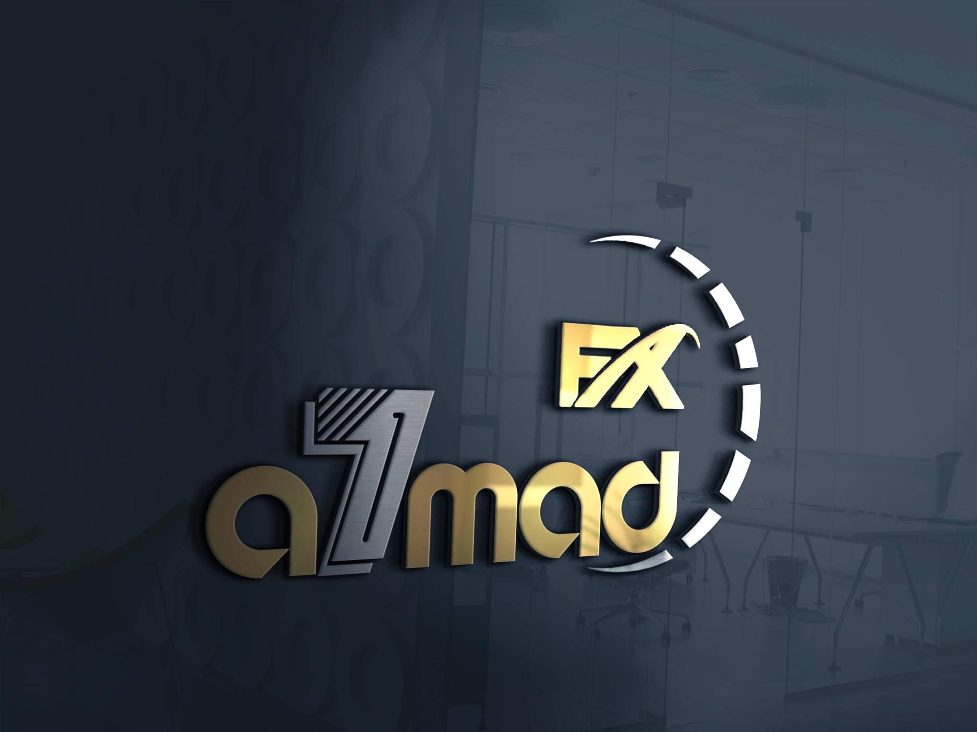 تصميم اسم شخصي / يعمل في الأسهم AHMED.FX