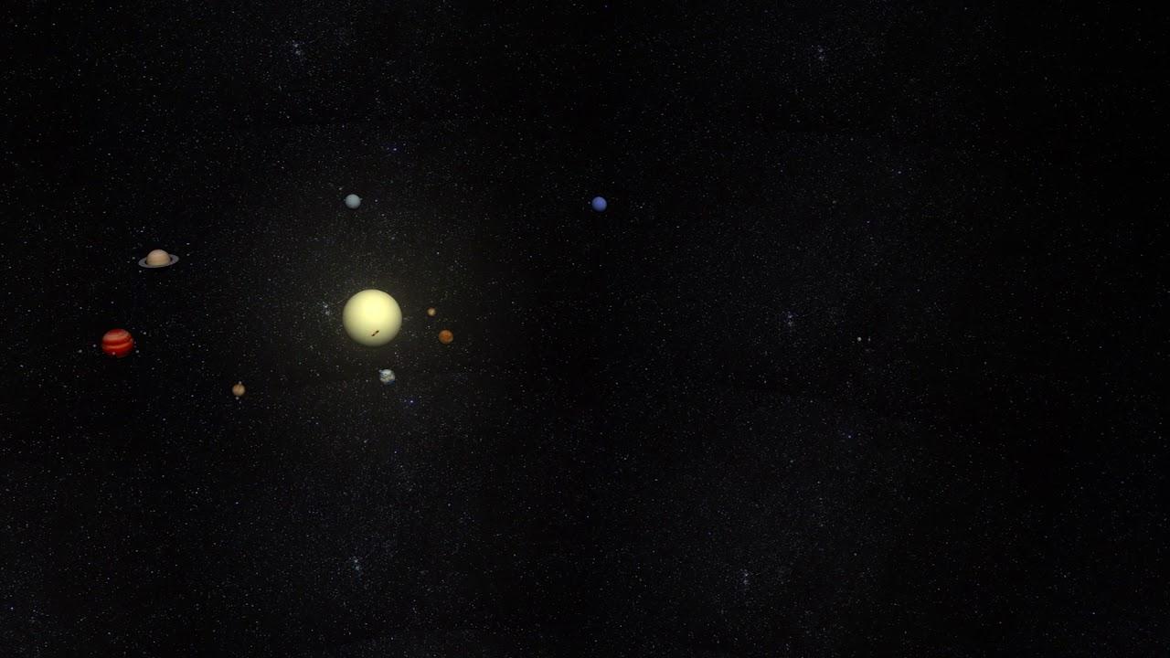 المجموعة الشمسية 3d
