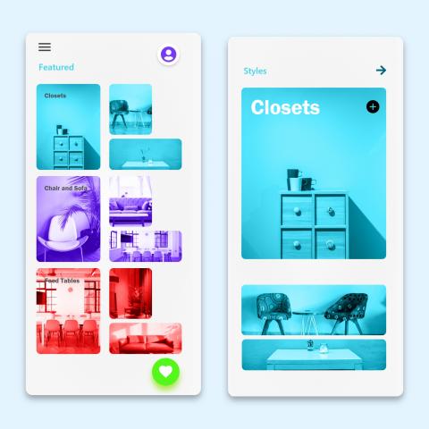 Furniture App Design Sneaks
