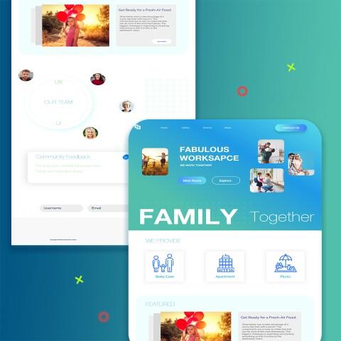 Web design & UI UX