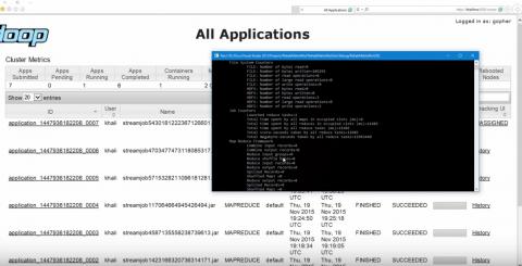 نظام سحابي باستخدام Hadoop MapReduce
