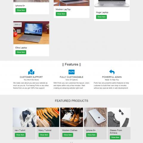 برمجه وتصميم سوق متكامل لعرض المنتجات والبيع والشراء مع لوحه تحكم في الموقع كاملا
