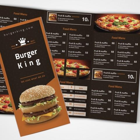 بروشور Burger King