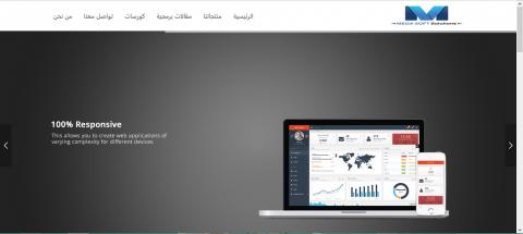 موقع شركة ميجا سوفت للبرمجيات