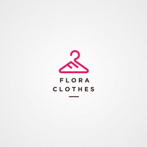 شعار Flora Clothes للملابس النسائية