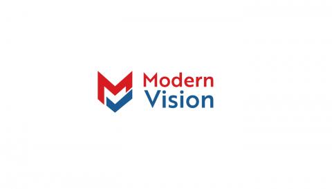 MODERN VISON LOGO DESIGN
