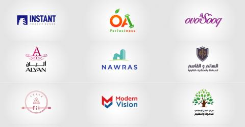 شعارات صممتها للعديد من أفراد وشركات 2019