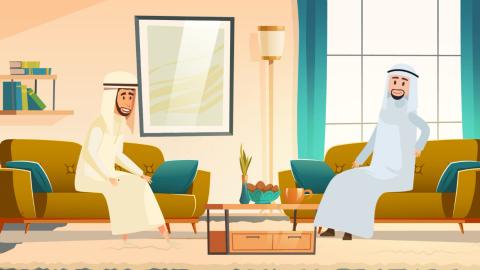 فيديو دعائي موشن جرافيك  2D Character animation
