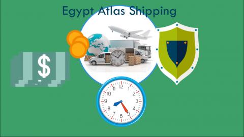 فيديو موشن جرافيك لشركة شحن مصرية سعودية