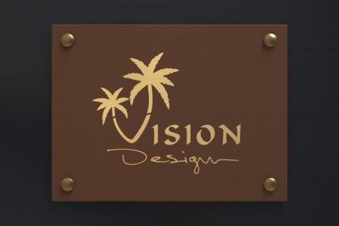 شعار مؤسسة رؤية التصميم