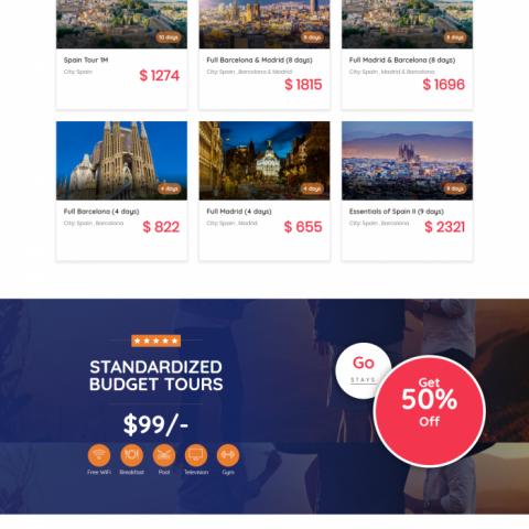 Cali4Travel ( موقع سياحة )