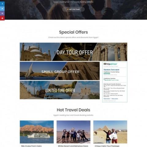 Signature Tours Egypt ( موقع سياحة )