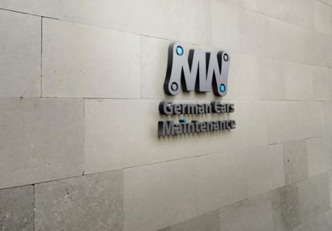 هوية بصرية كاملة لشركة MW لصيانة السيارات الألمانية
