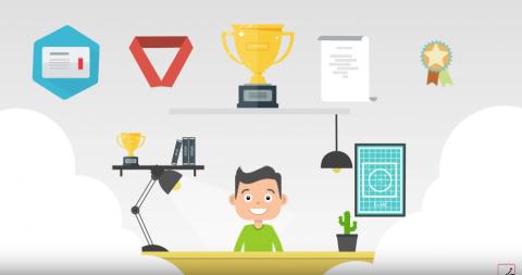 موشن جرافيك عن شركة تقدم مستلزمات مكاتب متميزة و متطورة