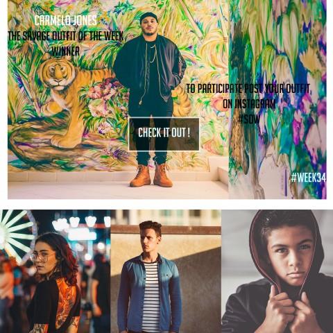 تصميمbranding  لشركة البسة شبابية + موقع