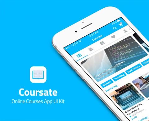كورساتي - تطبيق لعرض دورات تدريبية