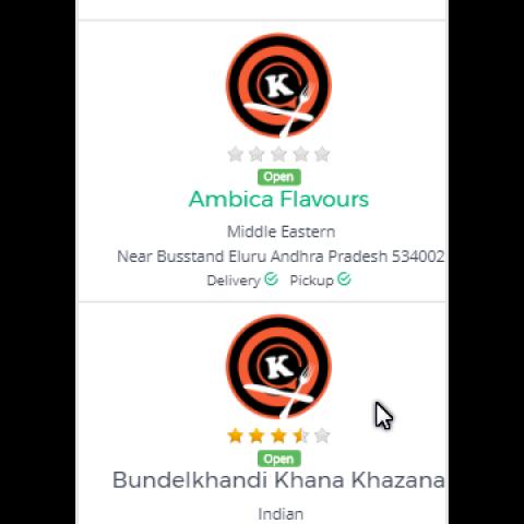 عمل تطبيقات طلب طعام باحدث التقنيات