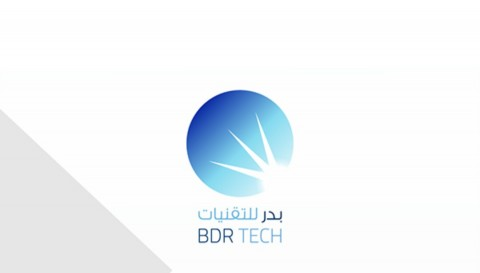Badr Technologies logo and branding design