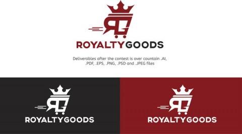 شعار متجر الكتروني