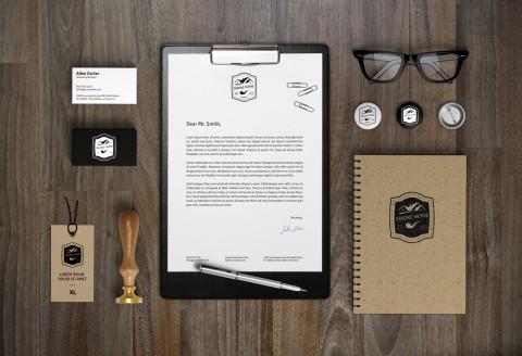 Branding Identity لمحل Smoke Home