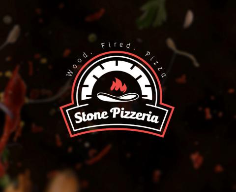 شعار وهوية بصرية Stone Pizzeria