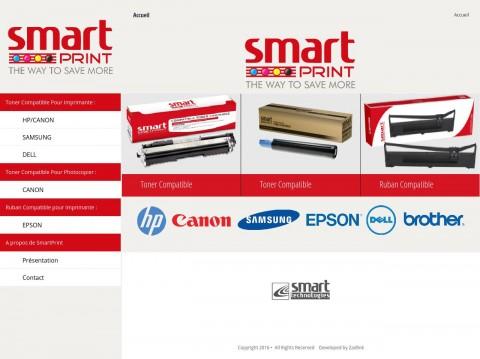 موقع مؤسسة SMART-PRINT ALGERIE