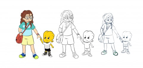 تصميم شخصيات