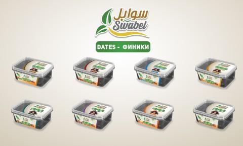 SWABEL DATES Packaging تصميم منتج تمور سوابل
