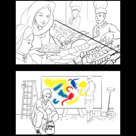 MTN storyboard