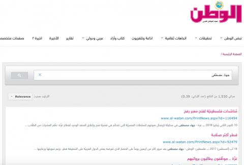 قائمة بجميع مقالاتي في صحيفة الوطن القطرية