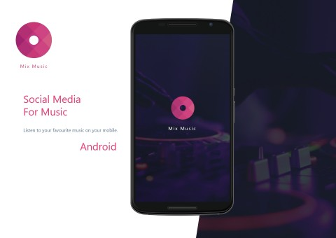 تطبيق سوشيال ميديا للموسيقى