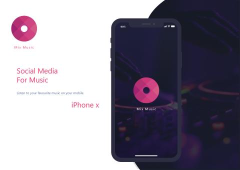 تطبيق سوشيال ميديا للموسيقى iOS