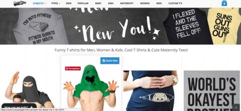 Web Site of  T-Shirt