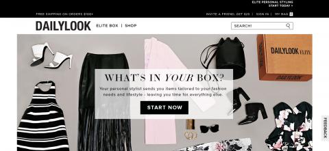 Fashion Based Website