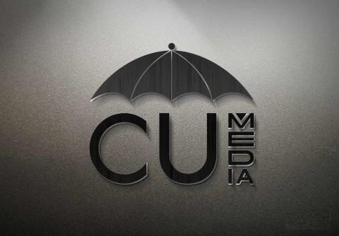 تصميم شعار وهوية شركة cu media