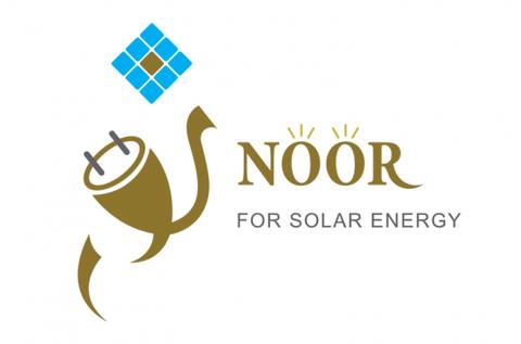 تصميم شعار وهوية شركة noor