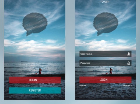design and developpment App - Chat