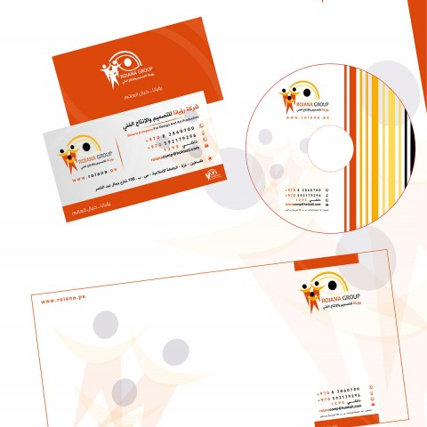تصميم هوية شركة رؤيانا للتصميم والانتاج الاعلاني