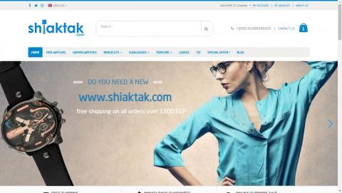 متجر Shiaktak - متجر إلكتروني على منصة ووردبريس