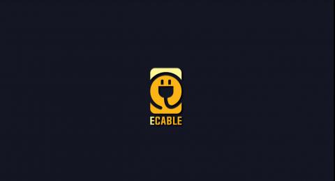 ECABLE logo design
