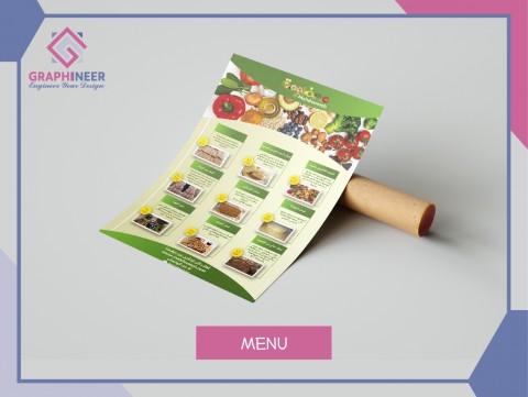 menu & logo