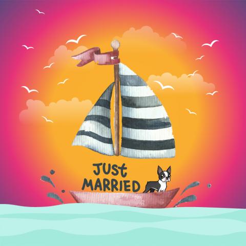 تصميم لمناسبة زفاف