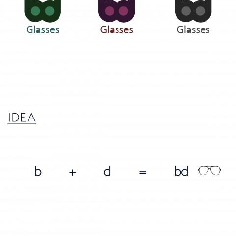 BD Glasses LOGO Brand