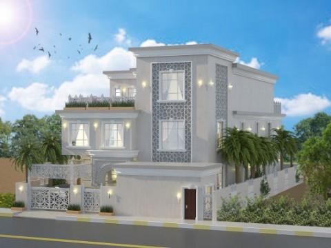 تصميم فيلا سكنية في الرياض