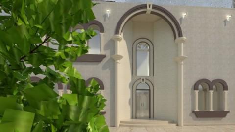 تصميم فيلا سكنية في أبها